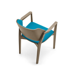 Turtle chair with armrests | Visitors chairs / Side chairs | Varaschin