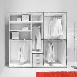 Open cloakroom unit | Estantería | Dauphin Home