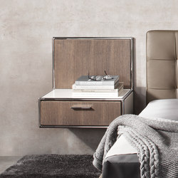 Wall-mounted bedside table | Mesillas de noche | Dauphin Home