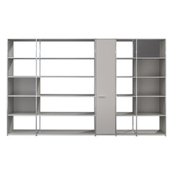 Shelving wall | Office shelving systems | Dauphin Home