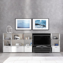 TV-Shelving combination | AV cabinets | Dauphin Home