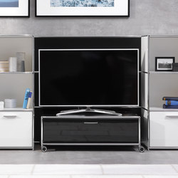 TV-Rollwagen | Hifi/TV Trolleys | Dauphin Home