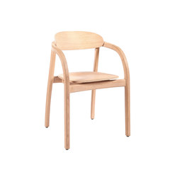 Arch with armrest – Oak natural | Chaises de restaurant | Wildspirit