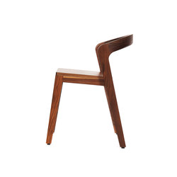 Play Chair – Solid American Walnut | Sillas para restaurantes | Wildspirit