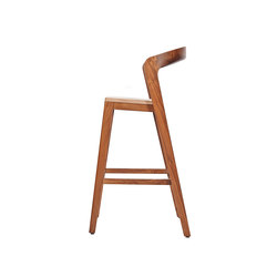 Play Barstool High – Solid American Walnut | Barhocker | Wildspirit