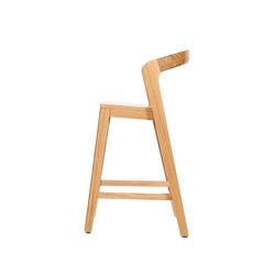 Play Barstool Low – Oak Natural | Tabourets de bar | Wildspirit