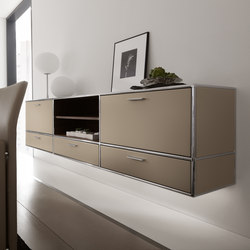 Wall-mounted sideboard | Shelving | Dauphin Home