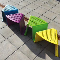 sinus Stool | Exterior chairs | mmcité