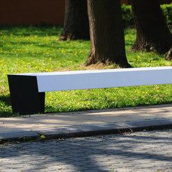 blocq Banc de parc | Exterior benches | mmcité