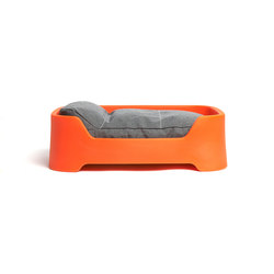Dog's Palace Small Orange with granite cushion | Accessori per abitazioni / uffici | Wildspirit