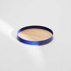 Barrel tray large | Vassoi | H Furniture