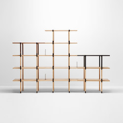 Basic shelving system | Sistemas de estanterías | H Furniture