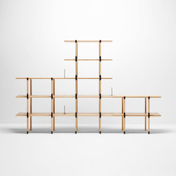 Basic shelving system | Regalsysteme | H Furniture