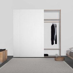 KUBATUR system for customized wardrobes | Storage systems | Sanktjohanser