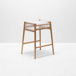 Loom bar stool | Sgabelli bar | H Furniture