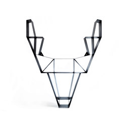 Deer metal shelf | Wanddekoration | BEdesign