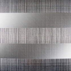 Stripe-Decor | 840 | Lastre in metallo | Inox Schleiftechnik