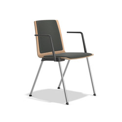 Caliber 2894/10 | Visitors chairs / Side chairs | Casala