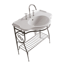 Paestum Floor Mounted Structure | Waschplätze | Globo