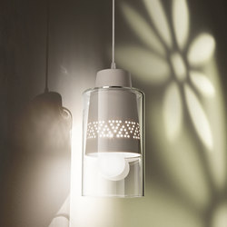 Fuzzy Hanging Lamp | General lighting | ITALAMP