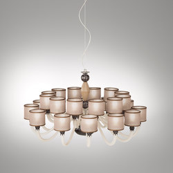 Rigato | Ceiling suspended chandeliers | ITALAMP