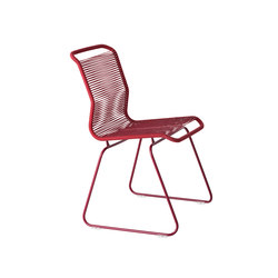 Panton One Chair | moulin rouge red | Restaurantstühle | Montana Møbler