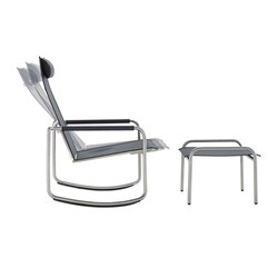 Jardin stacking chair by solpuri garden chairs architonic - Rocking chair jardin ...