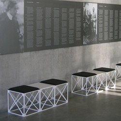 GRID bench | Waiting area benches | GRID System ApS