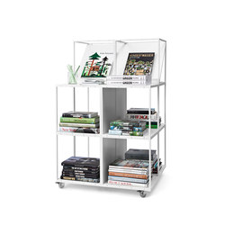 GRID bookcase | Book displays / holder | GRID System ApS