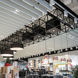 GRID ceiling element | Befestigungssysteme | GRID System ApS