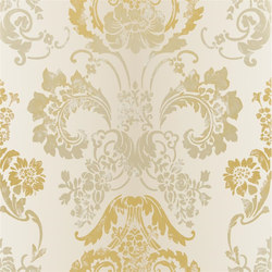Alexandria Wallpaper | Kashgar - Gold | Papiers peint | Designers Guild
