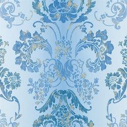 Alexandria Wallpaper | Kashgar - Azure | Wandbeläge | Designers Guild