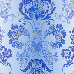 Alexandria Wallpaper | Kashgar - Lapis | Wandbeläge | Designers Guild