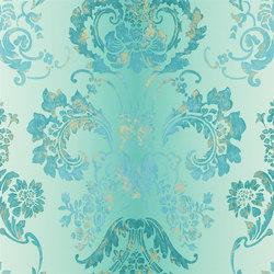 Alexandria Wallpaper | Kashgar - Jade | Wall coverings | Designers Guild