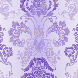 Alexandria Wallpaper | Kashgar - Amethyst | Wall coverings | Designers Guild