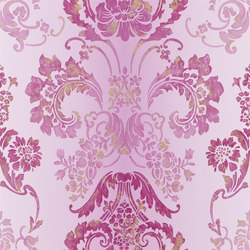 Alexandria Wallpaper | Kashgar - Damson | Wall coverings | Designers Guild