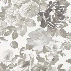 Alexandria Wallpaper | Roseus - Linen | Wall coverings | Designers Guild