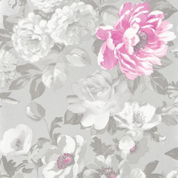 Alexandria Wallpaper | Roseus - Peony | Wall coverings | Designers Guild