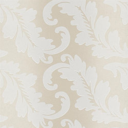 Alexandria Wallpaper | Ardassa - Linen | Wallcoverings | Designers Guild