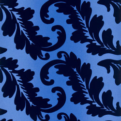 Alexandria Wallpaper | Ardassa - Cobalt | Wallcoverings | Designers Guild