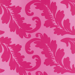 Alexandria Wallpaper | Ardassa - Magenta | Wall coverings | Designers Guild
