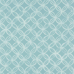 Amrapali Wallpaper | Ottelia - Aqua | Wallcoverings | Designers Guild