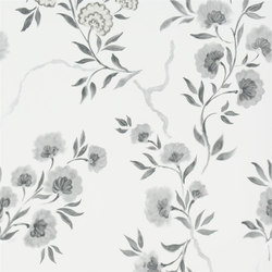 Amrapali Wallpaper | Jacaranda - Noir | Wallcoverings | Designers Guild
