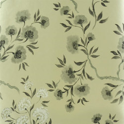 Amrapali Wallpaper | Jacaranda - Gold | Wallcoverings | Designers Guild