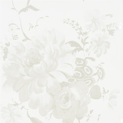 Amrapali Wallpaper | Mehsama - Ivory | Wall coverings | Designers Guild