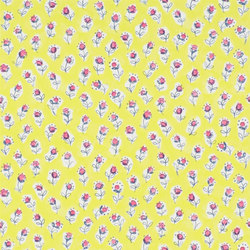 Around The World  Wallpaper | Daisy Patch - Lemongrass | Wall coverings | Designers Guild