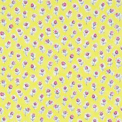 Around The World  Wallpaper | Daisy Patch - Lemongrass | Carta da parati | Designers Guild