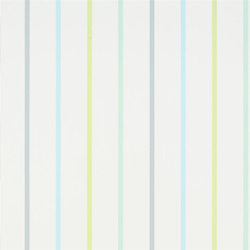 Around The World Wallpaper | Rainbow Stripe - Cloud | Papeles pintados | Designers Guild