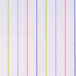Around The World Wallpaper | Rainbow Stripe - Lilac | Papeles pintados | Designers Guild