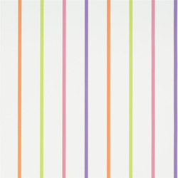 Around The World Wallpaper | Rainbow Stripe - Blossom | Wandbeläge | Designers Guild
